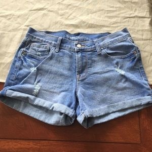Old Navy boyfriend denim shorts